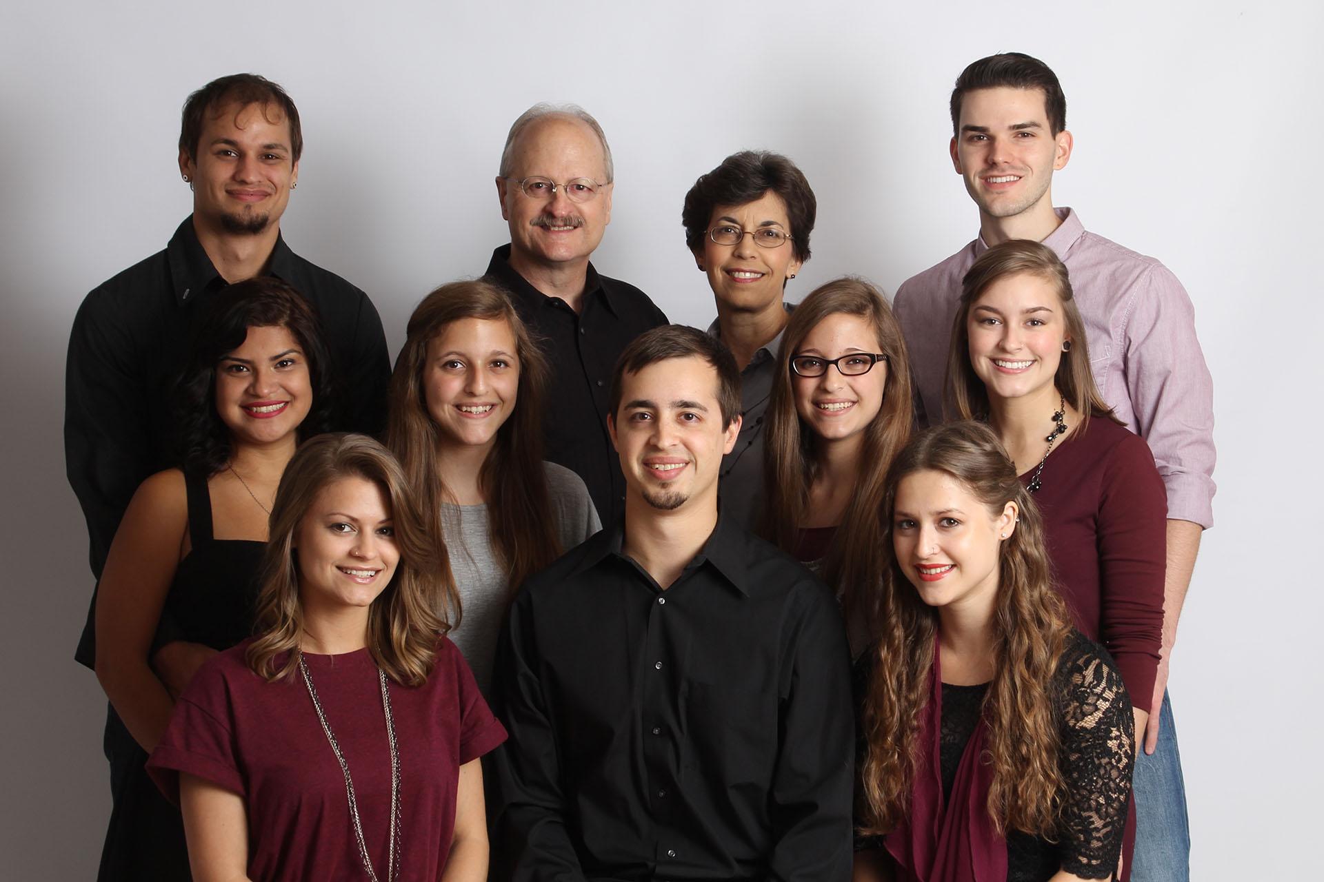 Good News Bob with Family in Magnolia Texas